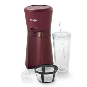 Mr. Coffee Iced Coffee Maker with Reusable Tumbler